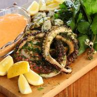Grilled_octopus_in_herb_paste_with_rouille