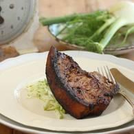 Pork_loin_chop_with_quince_glaze