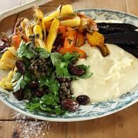 Mascarpone_white_polenta_with_heirloom_vegetables_and_caper_olive_salad_02