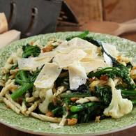 Strozzapreti with rapini