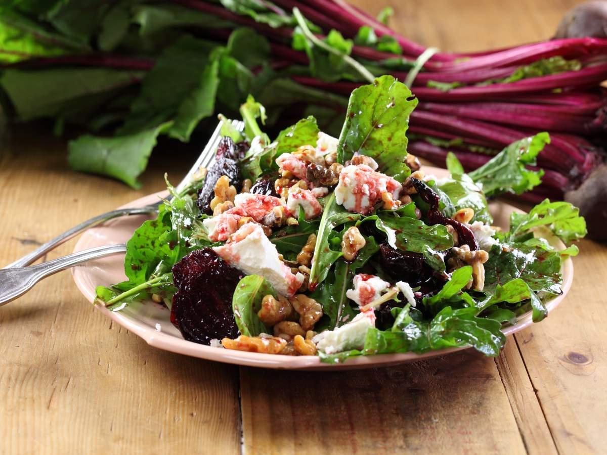 Beetroot and vino cotto salad