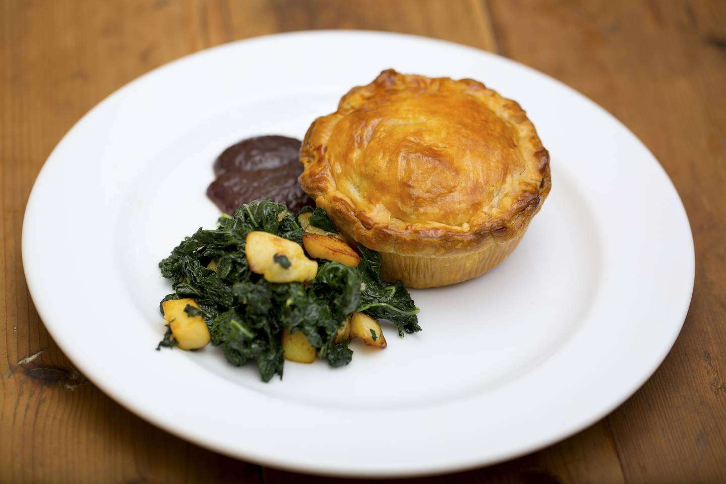 Coorong Angus Beef and Red Wine Pie with Cavolo Nero and ...