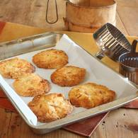 Marmalade and macadamia biscuits