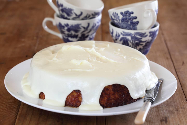 Orange Cake Icing Recipes: Orange Cake With Verjuice Icing