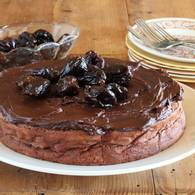 Prune and chocolate cake 03