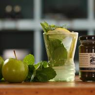 Apple mint jelly tea 1