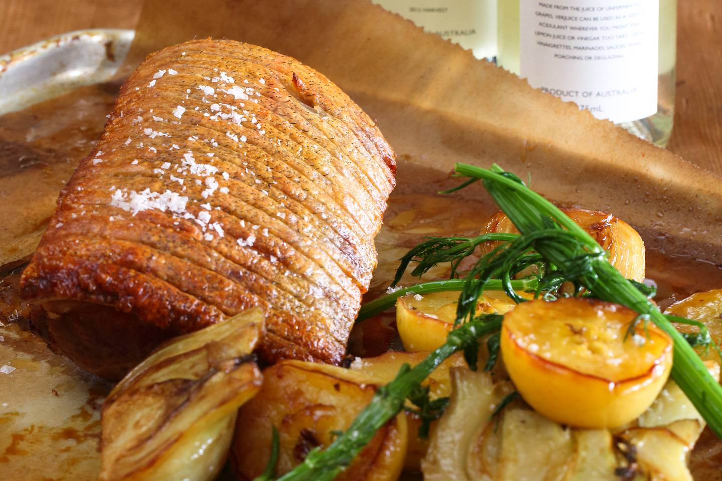 Berkshire Pork Loin With Fennel And Apple Cider Maggie Beer