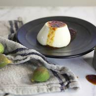 Panna cotta fig vino cotto