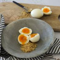 Eggs with dukkah