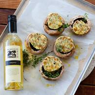 Baked mushrooms with walnut butter 3 web