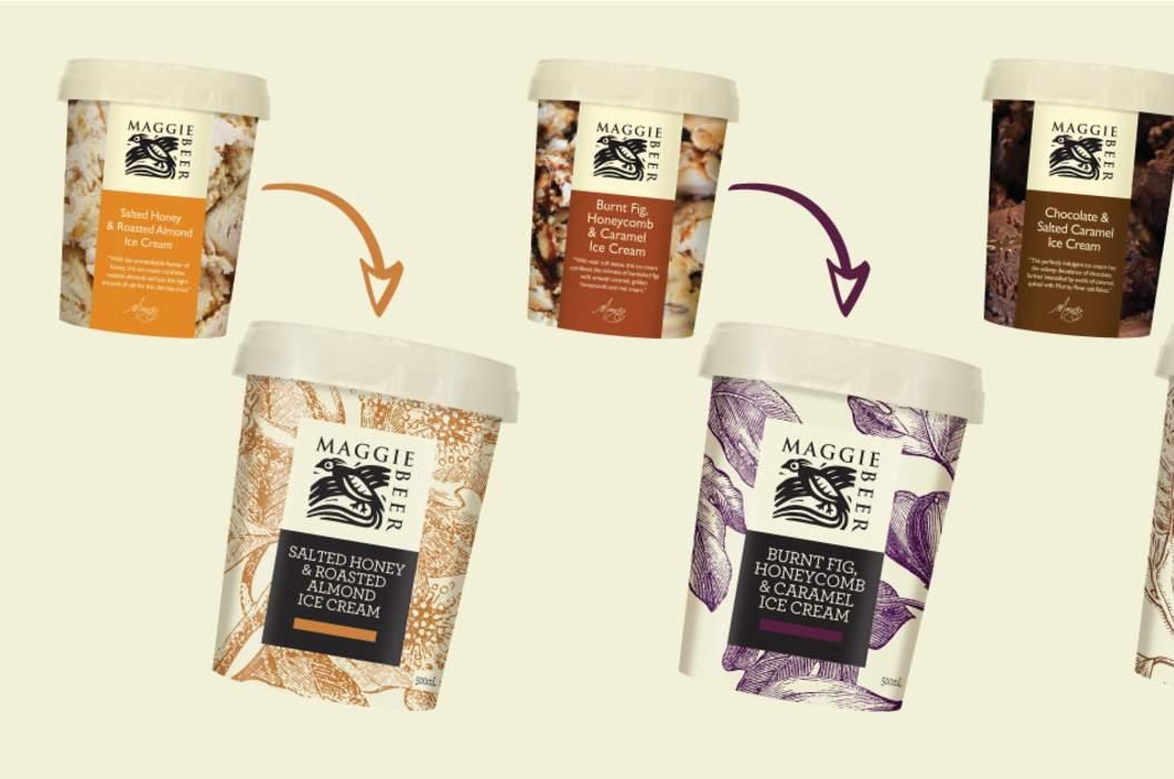 Brand range refresh icecream