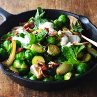 Braised brussels sprouts 6 1