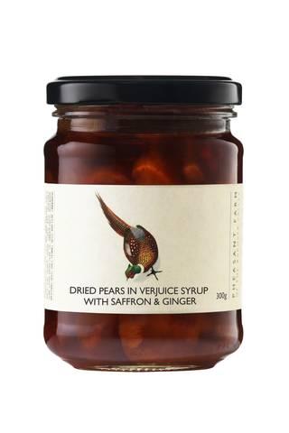 Dried pears in verjuice web
