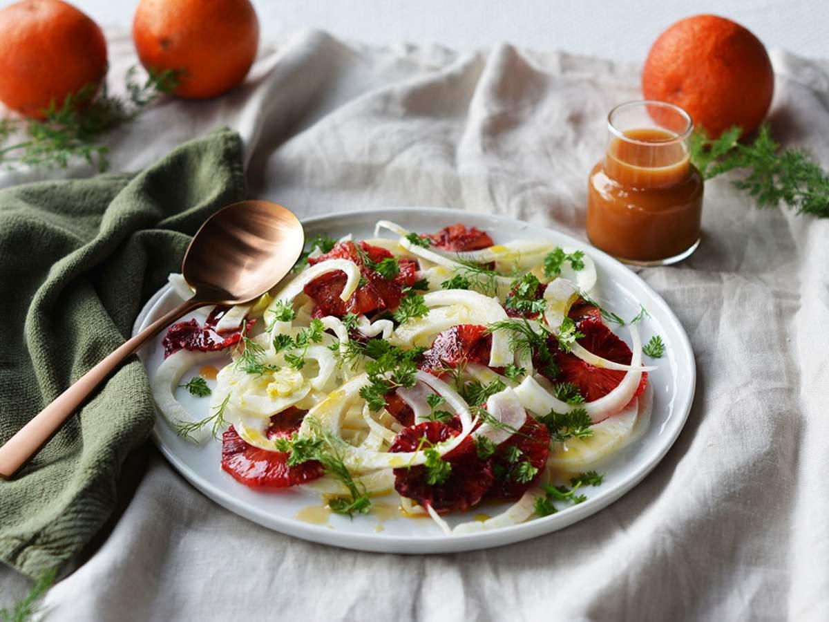 Blood orange fennel salad 2 1