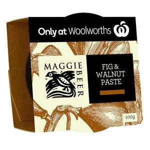 Fig walnut paste