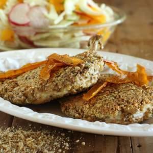 Approved dukkah crusted chicken schnitzel 10