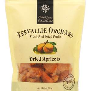 Trevallie dried apricots 2016 200g