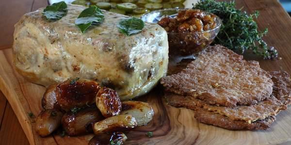 Chook and pork terrine