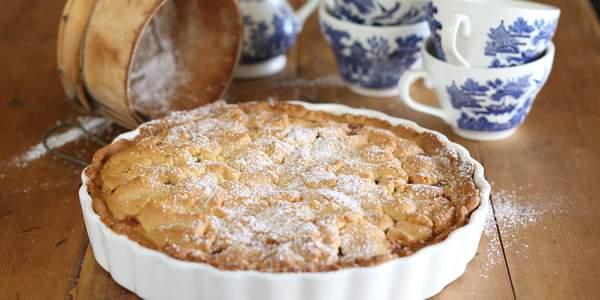 Sangiovese verjuice and apple shortcake