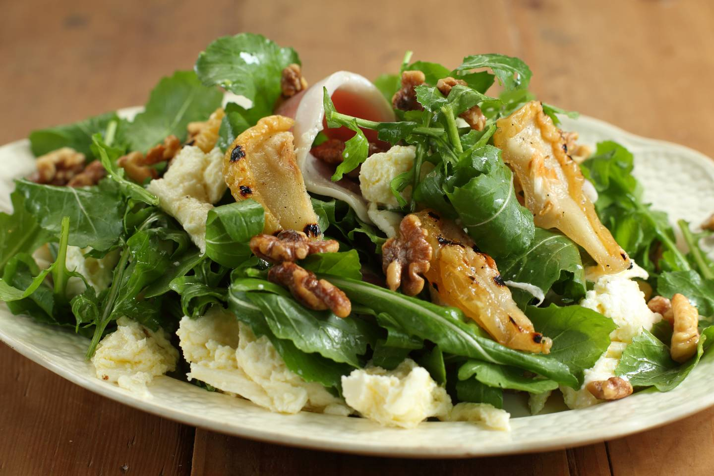Approved fior di latte grilled pear rocket salad 1