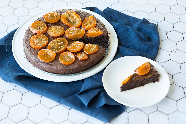 Flourless Chocolate Cake Almond Meal Orange