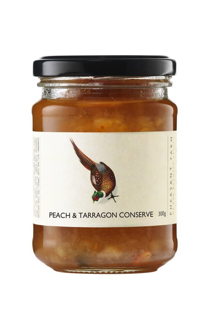 Peach tarragon web