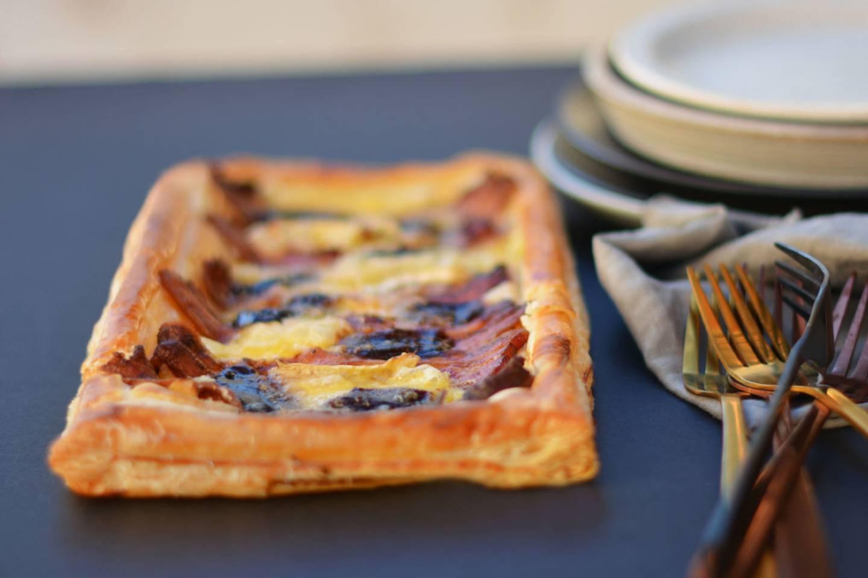 Bacon brie tart 10