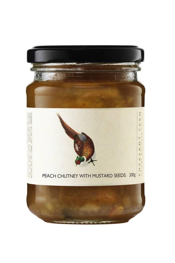 Peach chutney mustard seed web