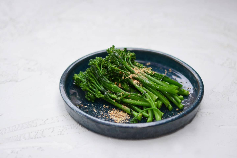 Broccolini dukkah 2