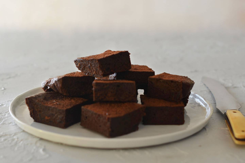 Marmalade brownie 1