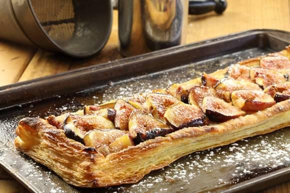 Fig almond tart 09