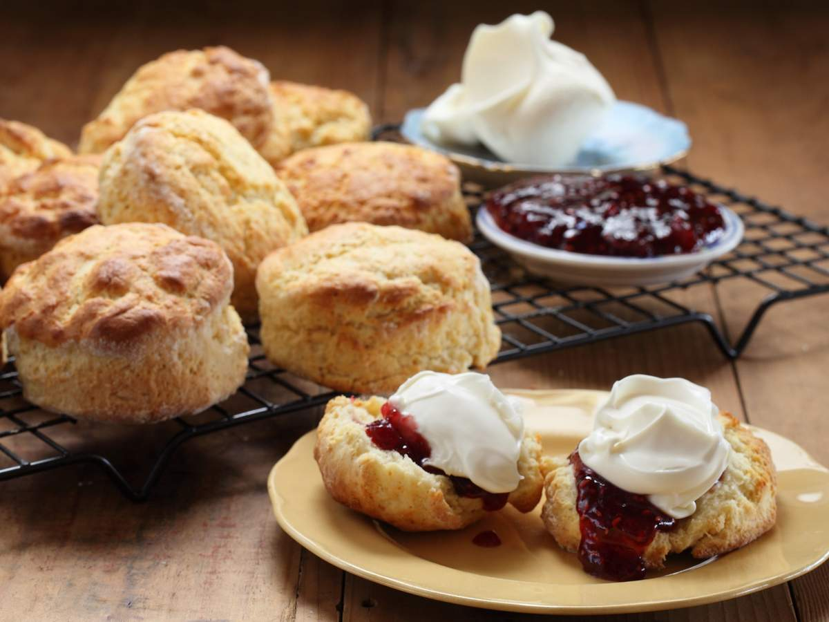 Scones with Maggie's Raspberry & Pomegranate Jam - Maggie Beer