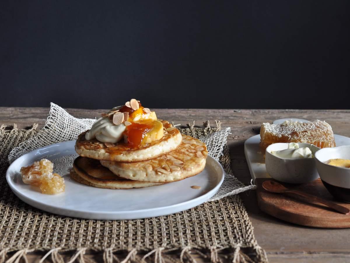 Almond pancakes 5