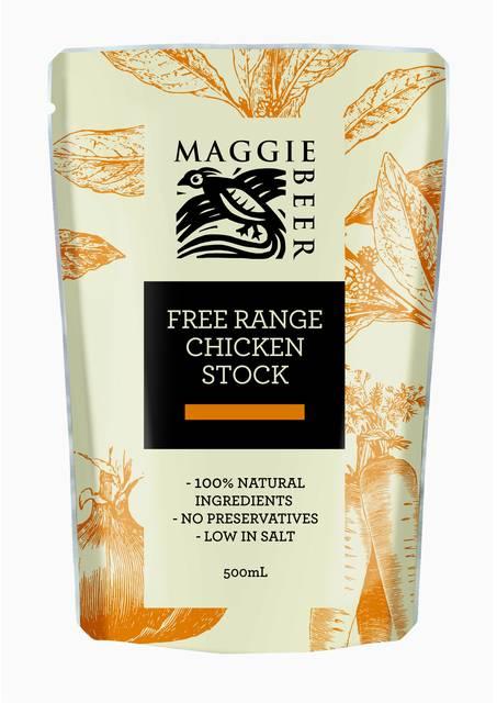 Free range  chicken stock