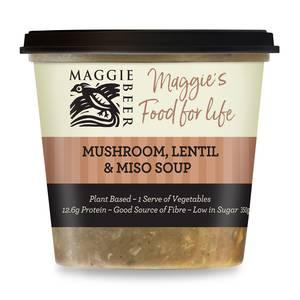 Mushroom lentil soup lrg