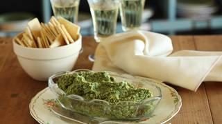 Artichoke green olive and preserved lemon dip