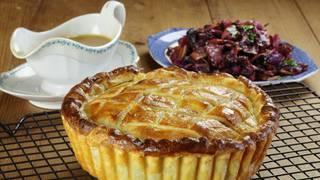 Pheasant pie radicchio 02