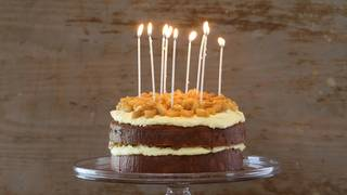 Verjuice birthday cake 16