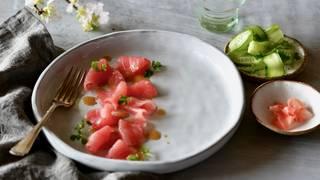 Raw tuna 1