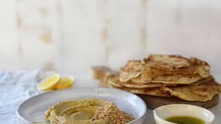 Hummus dukkah 4
