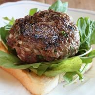 Cabernet lamb burgers