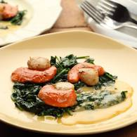 Scallops verjuice hollandaise 13