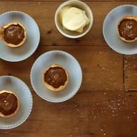 Salted brandy caramel tarts 03