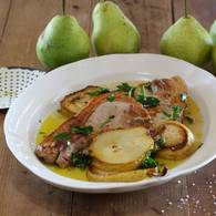 Pork cutlets with pears 07