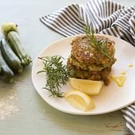 White bean zucchini feta and dill fritters 5