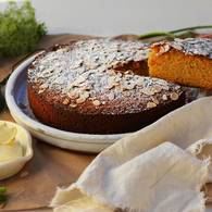 Blood orange seville marmalade almond cake 6