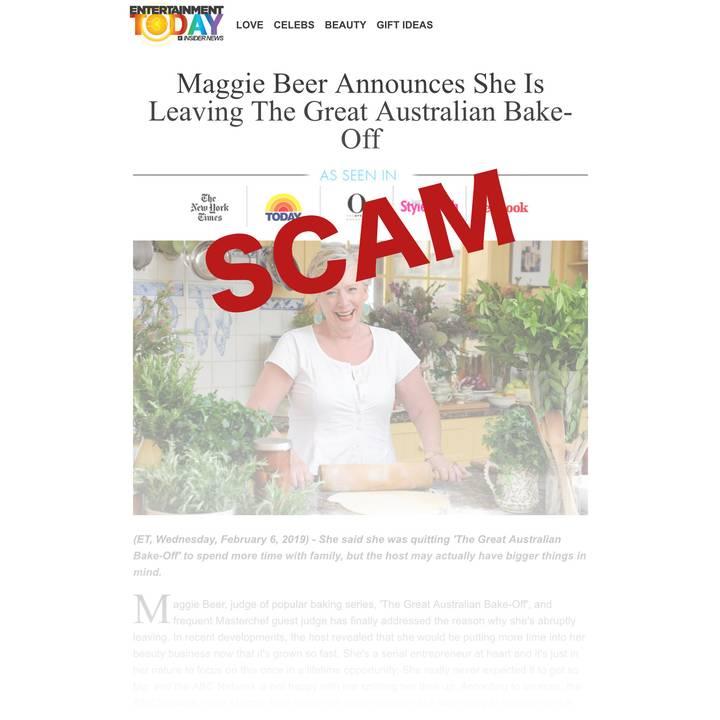 Alveda scam warning
